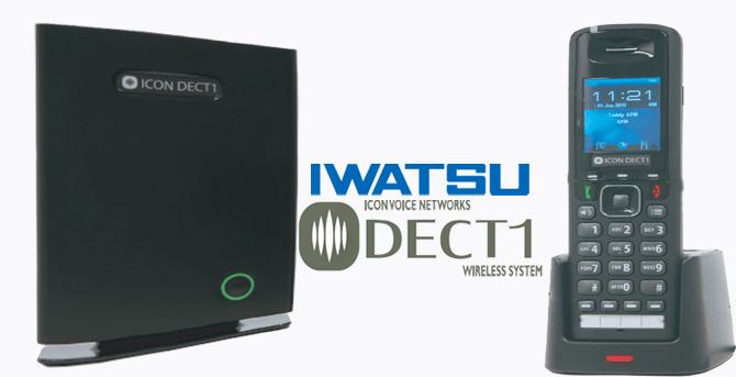 Solutions sans fil Iwatsu DECT