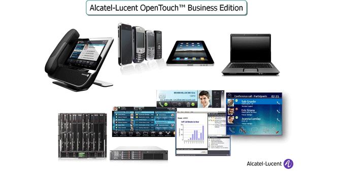 Systèmes Alcatel-Lucent OpenTouchTM