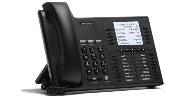 Téléphone numérique IWATSU ICON IX-5810