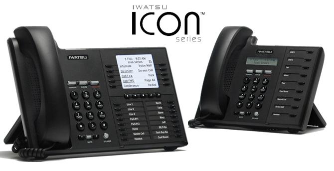 Téléphones numériques Iwatsu Icon