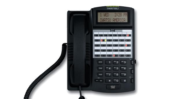 Le téléphone numérique Iwatsu 12KTD-3