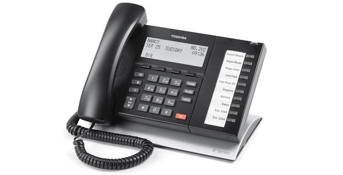Téléphone IP Toshiba 5122 / 5022 / 5522 / 5622 SD