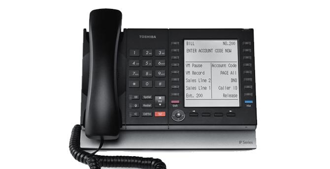 Téléphone IP Toshiba 5131/5531 / 5631 SDL