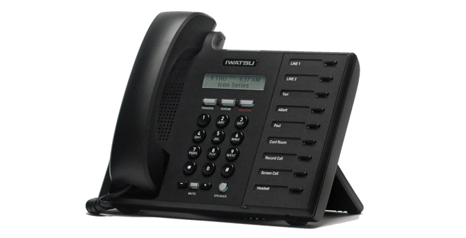 Téléphone IP IWATSU ICON IX-5900